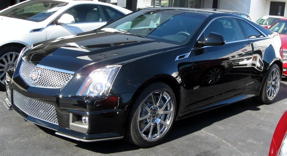 Cadillac CTS-V V8-supercharged